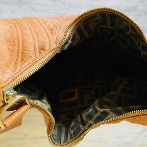 Fendi Bags - Fendi 'Spy Bag' Brown Leather